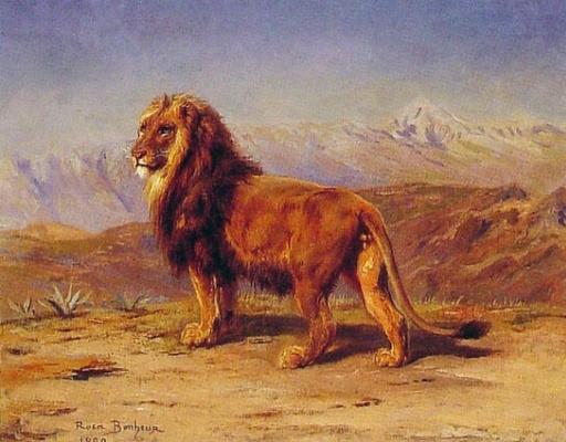 Роза Бонёр. Лев