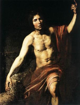 Valentine de Boulogne. Saint John The Baptist