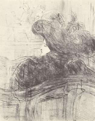 Henri de Toulouse-Lautrec. Cléo de Mérode