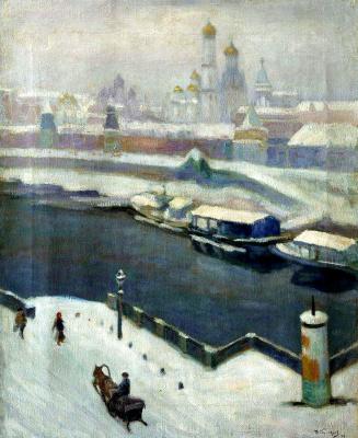 Николай Ефимович Кузнецов. Кремль зимой