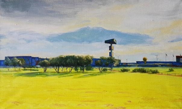 """Nikolay Nikolayevich Aksenov. """"Landscape N - 2"""""""