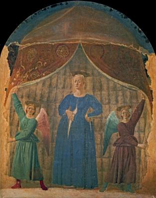 Piero della Francesca. Madonna