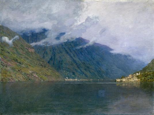 Исаак Ильич Левитан. Озеро Комо