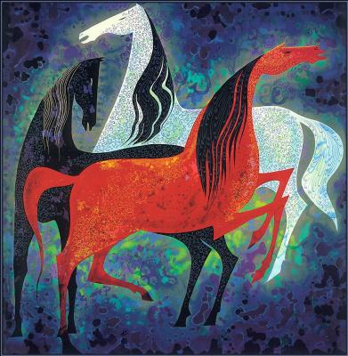 Эйвинд Эрл. Три благородные лошади