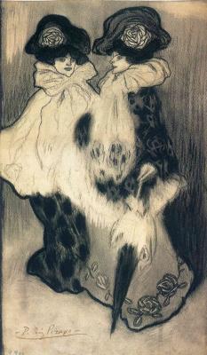 Пабло Пикассо. Две модные женщины