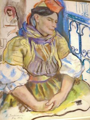Zinaida Serebryakova. Moroccan Jewish. Fes