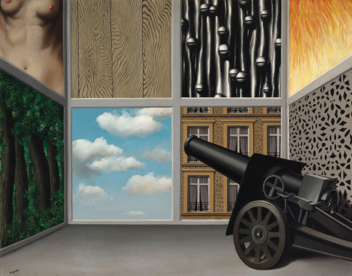 René Magritte. On the threshold of liberty