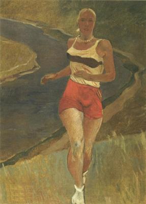 Alexander Alexandrovich Deineka. Runner