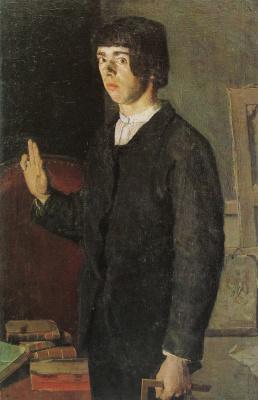 Student. Self portrait