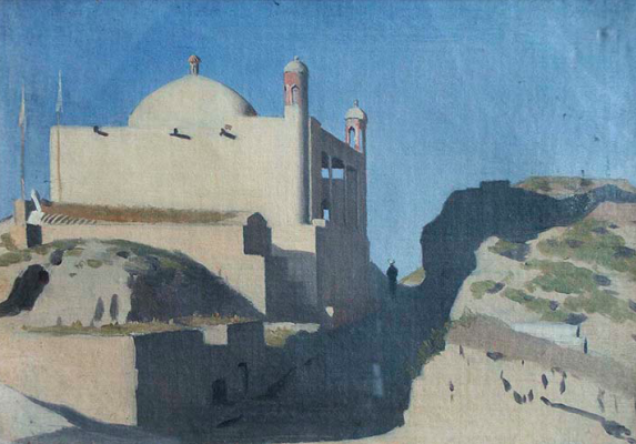 Vasily Vasilyevich Vereshchagin. Gur-Emir. The mosque over the tomb. Tamerlane