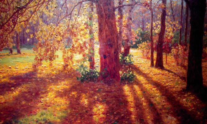 Ivan Fedorovich Schultze. Autumn