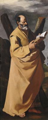Francisco de Zurbaran. Apostle Andrew