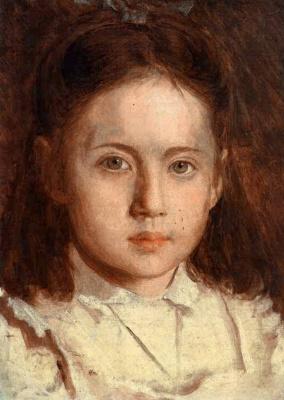Иван Николаевич Крамской. Портрет дочери художника Сони Крамской