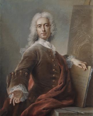 Charles-Antoine Coypel. Self-Portrait