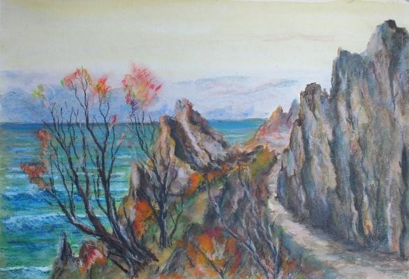 Sergey Alexandrovich Vasilchikov. Trail in the mountains.
