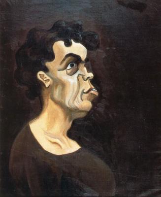 Луис Фернандес. Мужской портрет