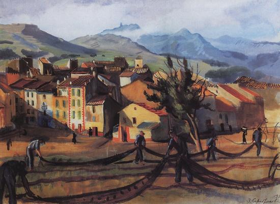 Zinaida Serebryakova. Collioure