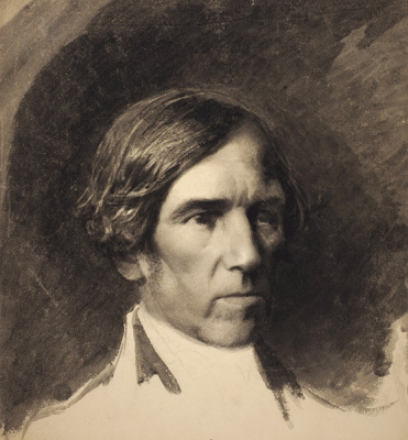 Alexander Dmitrievich Litovchenko. Portrait of a man.