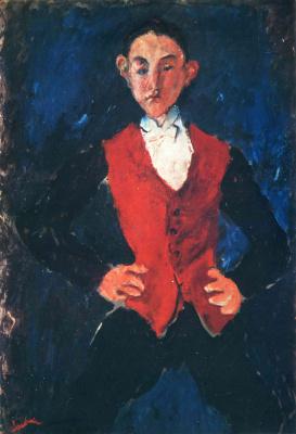 Haim Solomonovich Soutine. Portrait of a boy