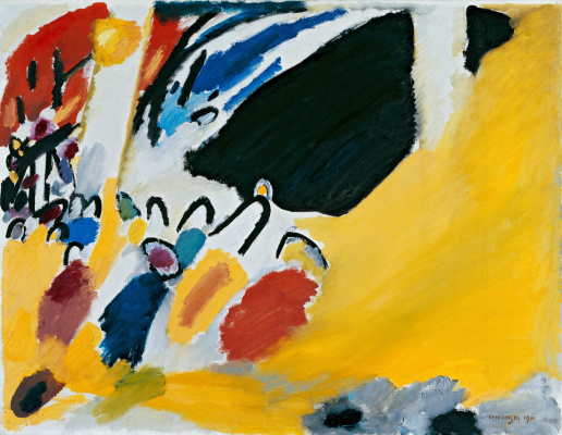 Wassily Kandinsky. Impression III. Concert