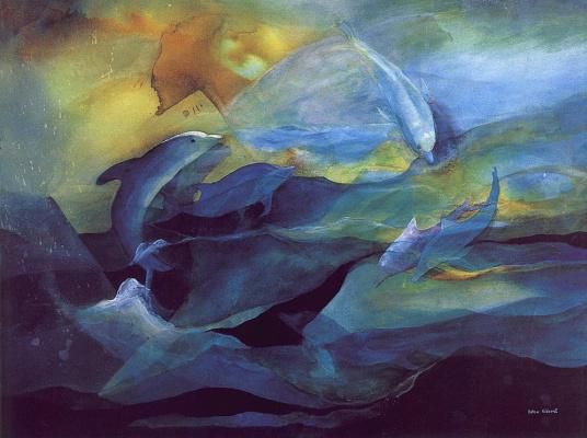 Эдна Ридеоут. Танцующие дельфины