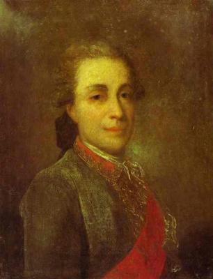 Федор Степанович Рокотов. Портрет неизвестного в зеленом кафтане