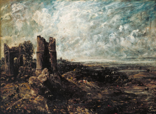 John Constable. Castle Hadlat. Sketch
