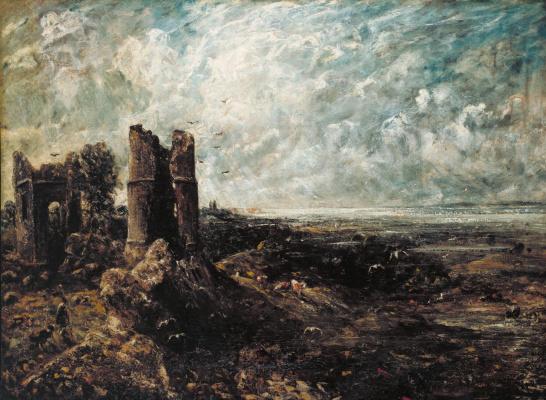 John Constable. Castle Hadlat. Sketch