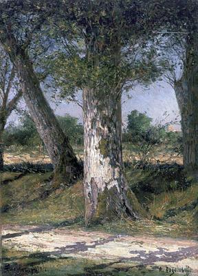 Alexey Petrovich Bogolyubov. Oak trunks