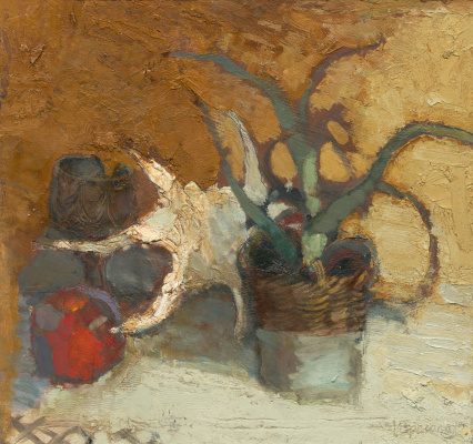 Igor Nikolaevich Ermolaev. Still life with seashell