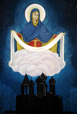 Julia Sergeevna Bochkareva. Under the Protection of the Blessed Virgin Mary