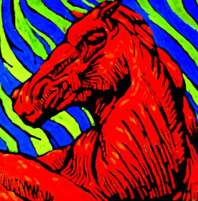 Мария Дроздова. Конь