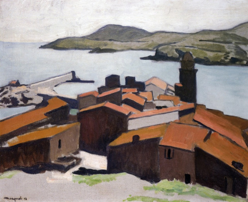 Albert Marquet. View Of Collioure
