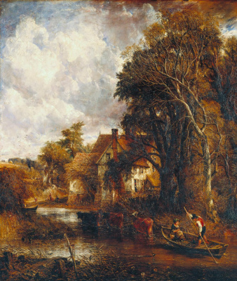John Constable. Farm in the valley