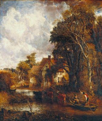 John Constable. Farm in the valley