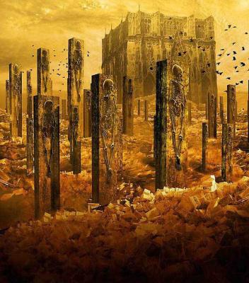 Гжегож Кмин. Разрушенный город