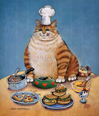 Gary Patterson. Fat cat
