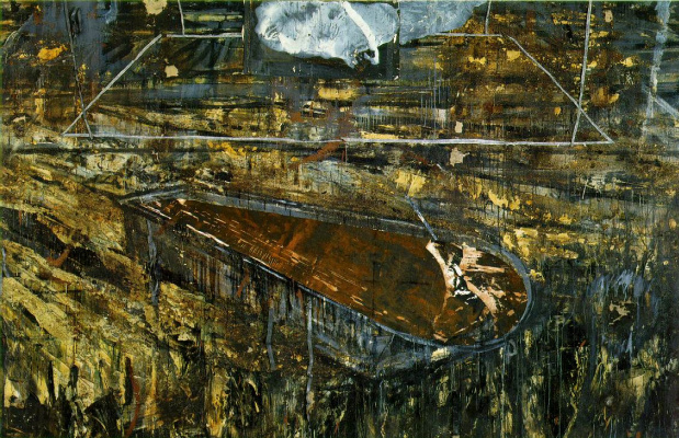 Anselm Kiefer. The red sea
