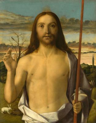 Джованни Беллини. Благословение Христа
