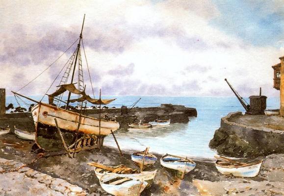 Франсиско Боннин. Лодка
