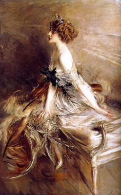 Джованни Больдини. Портрет принцессы Марты Люсиль Бибеско. 1911