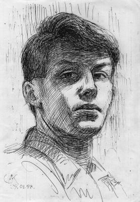 Алексей РуСАК. Рисунок головы