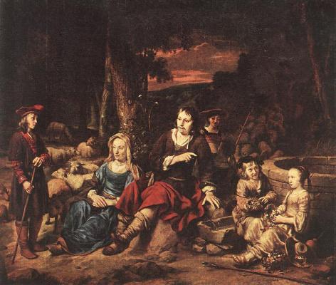 Гербранд ван ден Экхоут. Семейный портрет