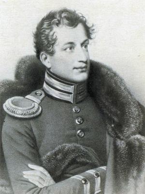 Orest Adamovich Kiprensky. Portrait of I. A. Annenkov