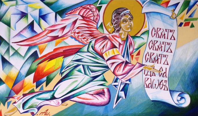 Peter Alexandrovich Shein. Angel of Glorification.
