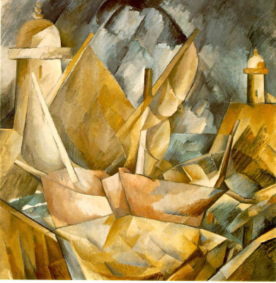 Georges Braque. Harbor in Normandy