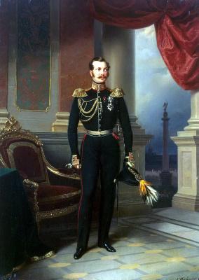 Franz Kruger. Portrait Of Alexander Nikolayevich