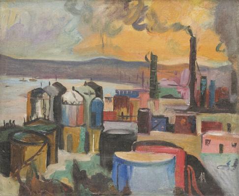 Тофик Гашимович Джавадов. Индустриальный пейзаж