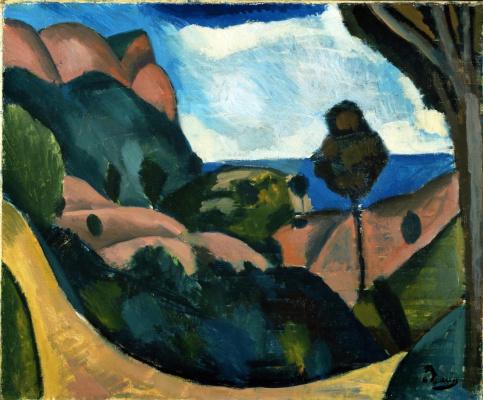 Andre Derain. Landscape near Cassis