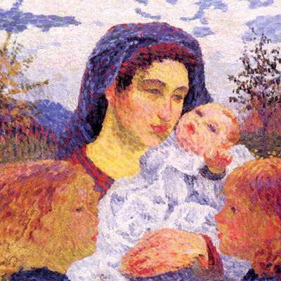 Giovanni Giacometti. Mother